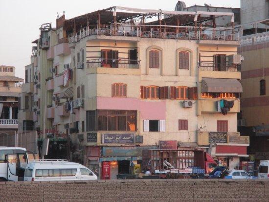 Nefertiti Hotel: Schon zu sehen - die Dachterrasse