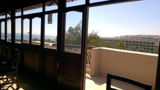 Golden Rose Hotel: Blick vom Restaurant ganz oben
