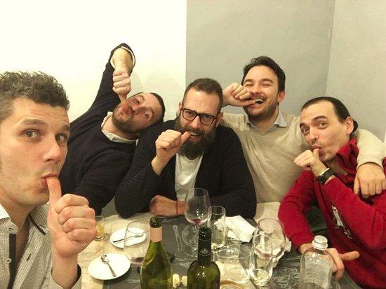 Castiglion Fiorentino, Italia: commensali importanti!!!!