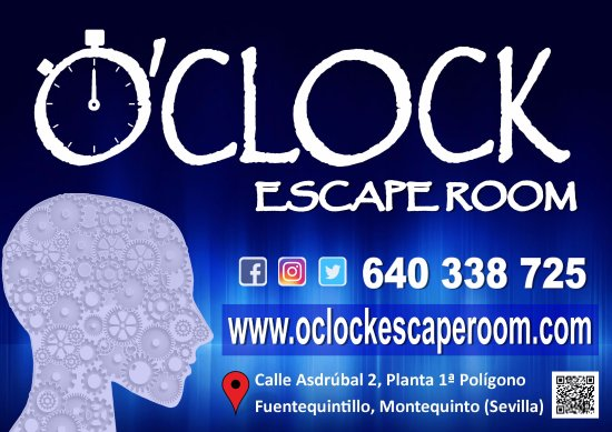 Dos Hermanas, Španělsko: O'clock Escape Room