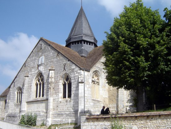 Eglise Sainte-Radegonde de Giverny: The church at Giverny © Robert Bovington