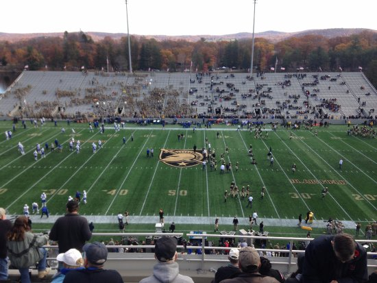 Michie Stadium: No matter where you sit, you can see the field