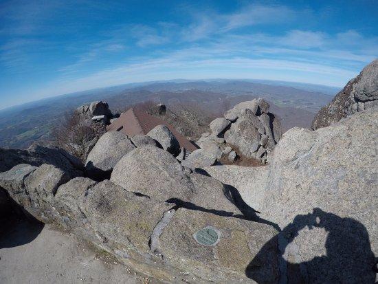 Bedford, VA: Peak of Sharp Top Mountain