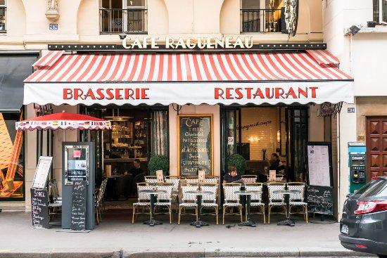 Cafe Ragueneau: La terrasse