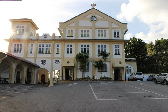 Mount St. Benedict Monastery : This is a shot from the front of the church