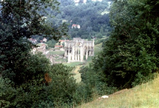 Helmsley, UK: view of  Rievaulx Abbey © Robert Bovington