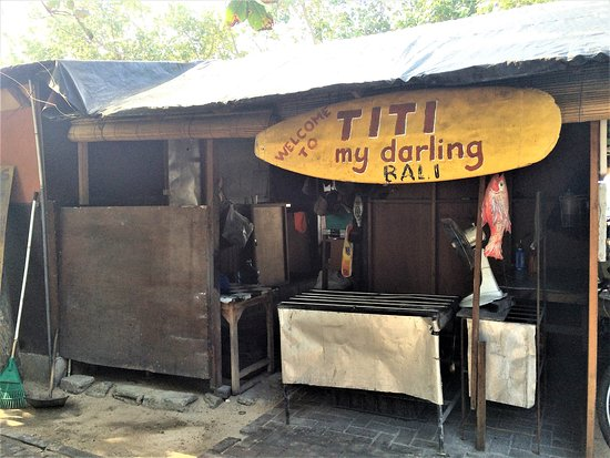 Titie's Warung: The 'grill'