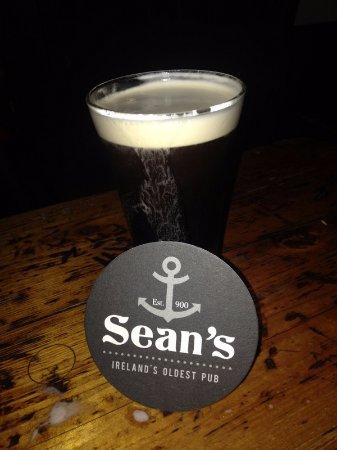Athlone, Irlanda: Drop of the black stuff!