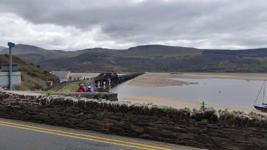 The Mawddach Trail: View across the Bridge from Barmouth