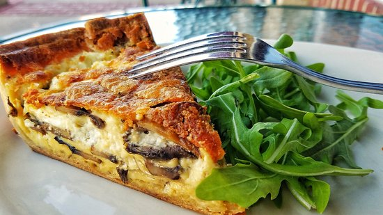 Mountain Home, Αρκάνσας: Breakfast quiche!