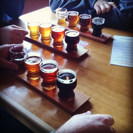 Meridian, ID: Killer samples at Mad Swede Brewing