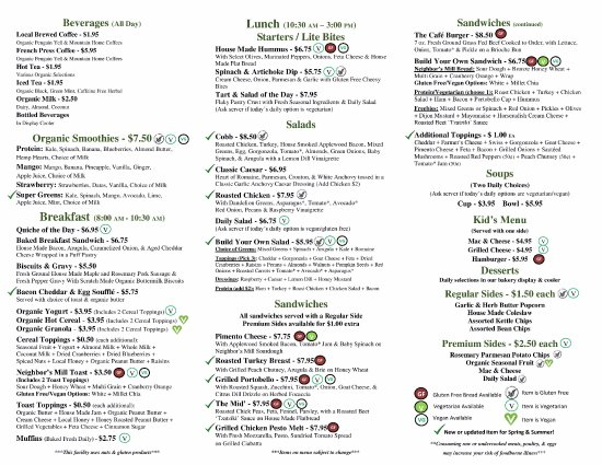 Mountain Home, AR: New Spring & Summer Menu!