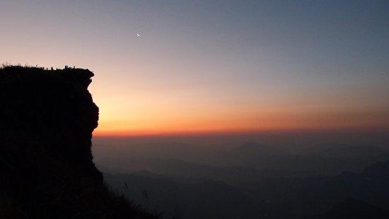 Phu Chi Fa Forest Park : Рано утром на горе.