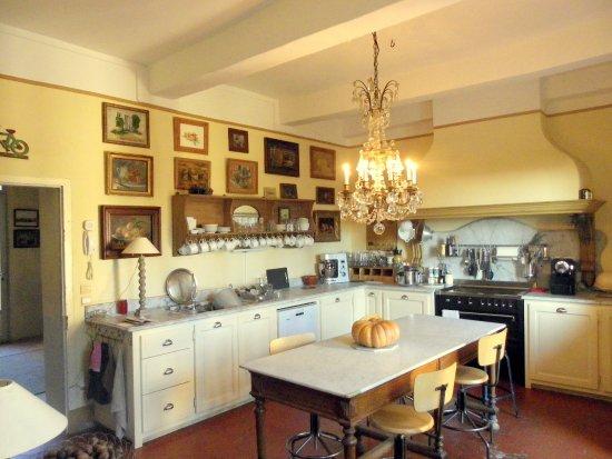 Château d'Ortaffa La cuisine