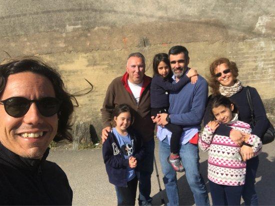 Repetimos visita a Granja La Cuesta. Ideal para los pequeños de a familia.