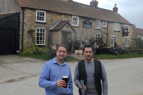Burythorpe, UK: Vito & Franco - always happy to welcome new guests!
