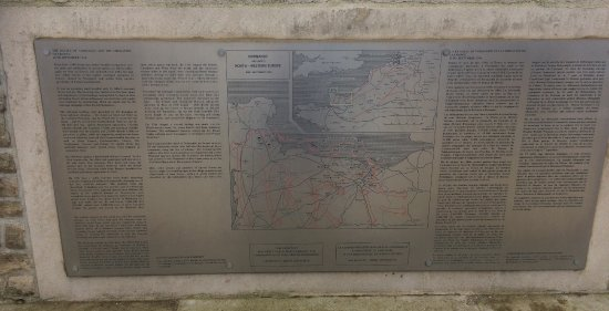 Calvados, France : Information Board