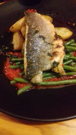 The Stag on the River : Sea Bass