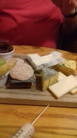 The Stag on the River : Cheese board