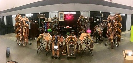 Tioga, TX: Display at the Dixie National Horse Show in Jackson, Mississippi