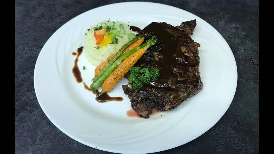 Grand Falls, Canada: Rib Eye Steak