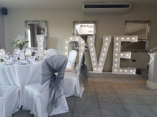 Stonedge, UK: Orangery- wedding breakfast!