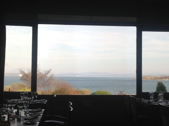 Craignure, UK: View from dining room
