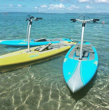 La Saline les Bains, Reunion Island: Activité ludique et facile. Pour une fois qu'il y a de l'originalité ! Pas besoin d'être équilib