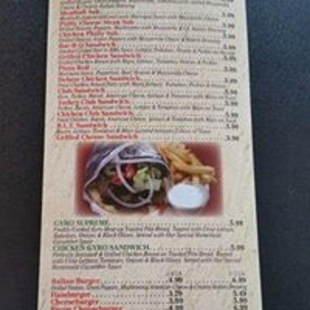 Edmond, Οκλαχόμα: Menu - Sandwiches & Burgers