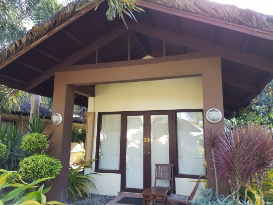 Kahuna Beach Resort and Spa: Our room / bungalow from the outside