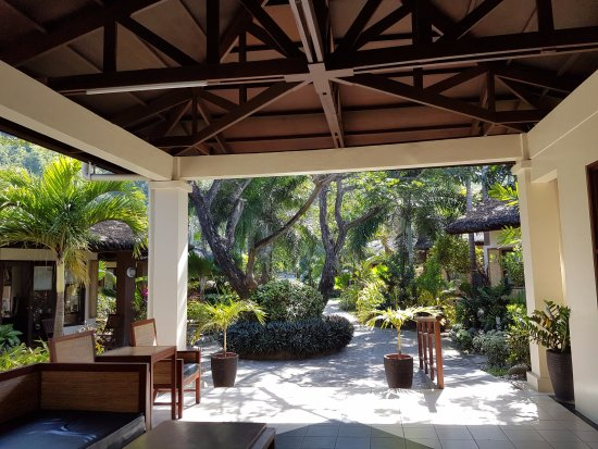 Kahuna Beach Resort and Spa: View from the lobby