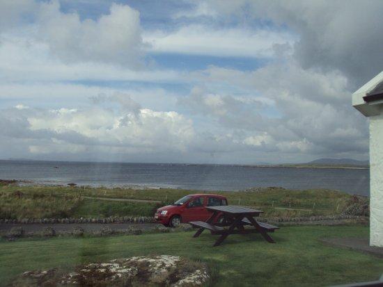 Renvyle, أيرلندا: vue sur la mer depuis notre chambre