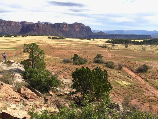 Virgin, UT: Our Tent and ranch views