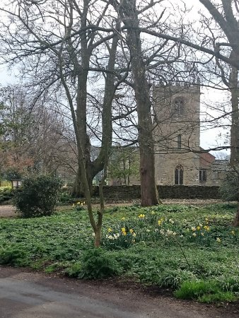 Little Weighton, UK: Private church at Rowley Manor