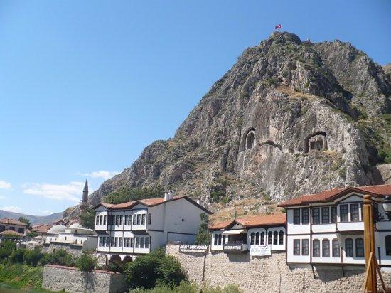 AMASYADAN KALEYE BAKIŞ - Amasya Kalesi, Amasya Resmi ...