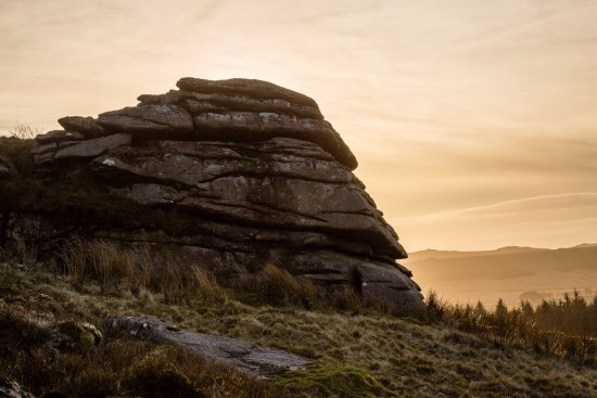 Postbridge, UK: Bellever Tor