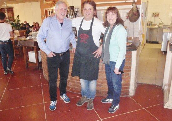 Dicomano, Italia: Con Giovanni