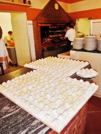 Dicomano, Italia: I tortelli di patate sono pronti