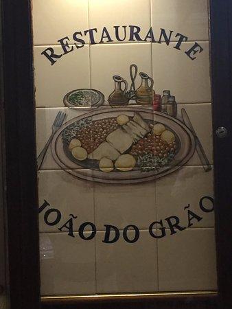 Joao do Grao : Restaurante João do Grão