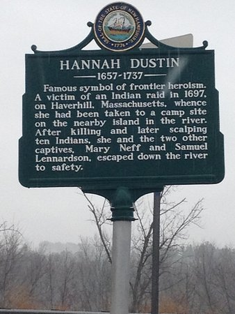 Boscawen, NH: Hannah Duston Memorial Historic Site