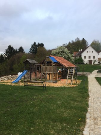Jennersdorf, Austria: Der Spielplatz beim Steira-Haus