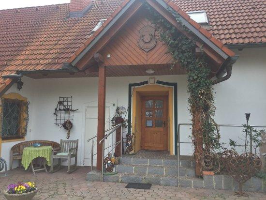 Jennersdorf, Austria: Der Eingang