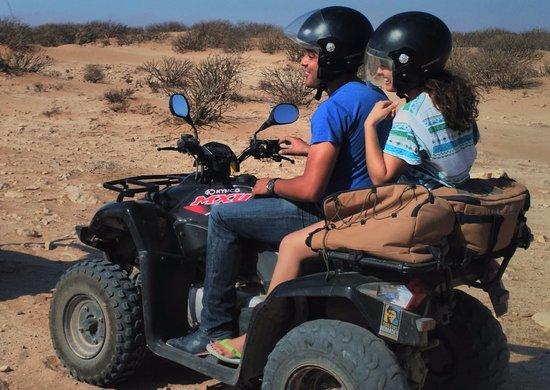 Quad au Maroc