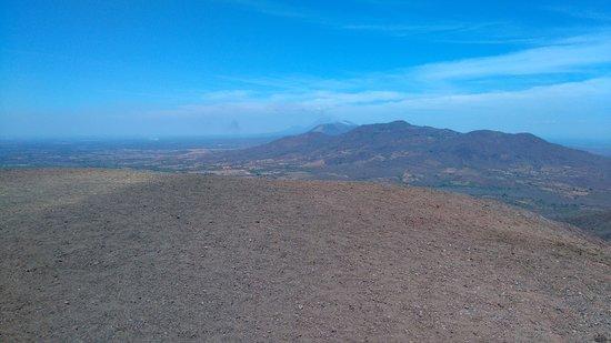 Jiquilillo, Nicaragua: top of volcano