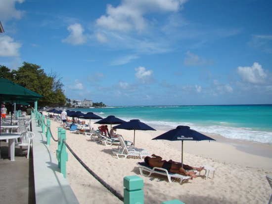 Worthing, Barbados: As busy as it gets!
