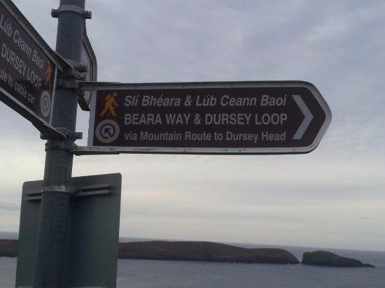 Crookhaven, Irlanda: The trail