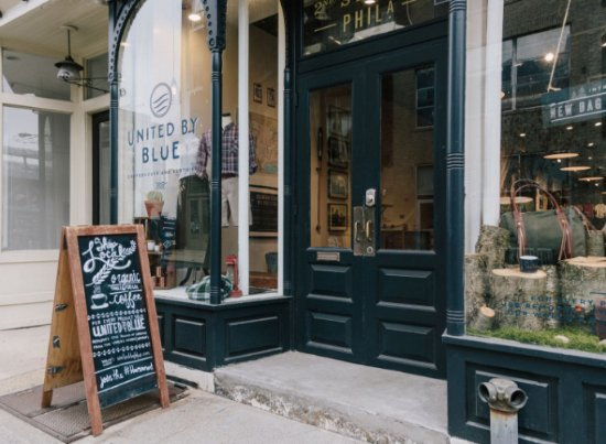 United By Blue Coffeehouse and Clothier