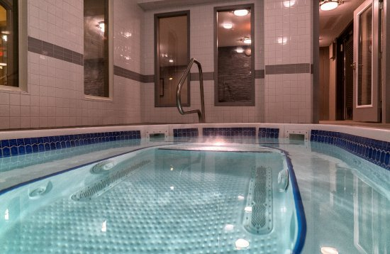 Rossland, Kanada: Indoor Hot Tub