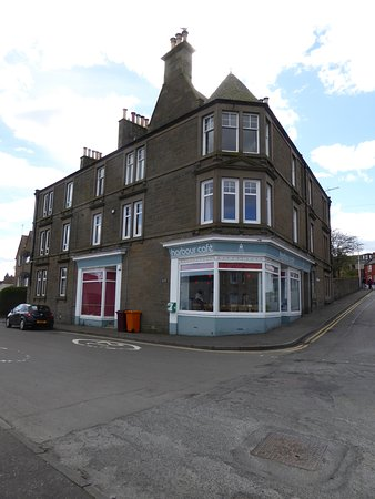 Tayport, UK: Sweet front to the building