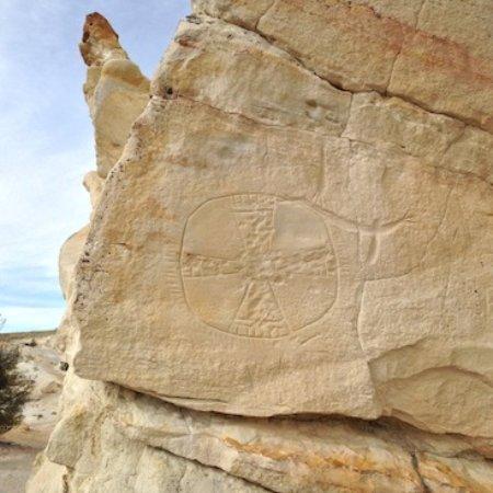 ริเวอร์ตัน, ไวโอมิง: Castle Gardens Petroglyph Trek